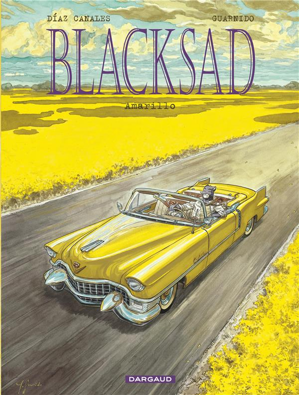 Blacksad Amarillo Vol.5 Guarnido Juanjo Dargaud
